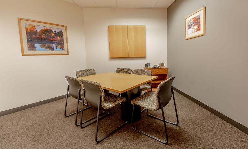 The Confidence Corner:Small Meeting Room